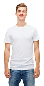 футболка, шелкография