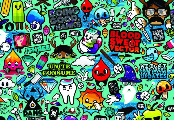стикербомб, Sticker. нафлеки на автомобиль