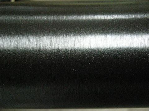 черный шлифованный металл, пленка 3М