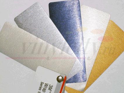 Пленки с текстурой шлифованных металлов
