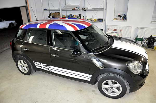 Оклейка автомобиля MINI Cooper