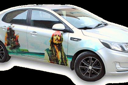 пираты карибского моря на автомобиле
