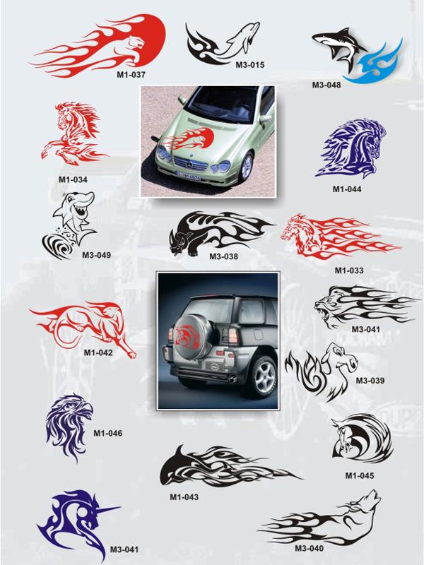 Автонаклейки, наклейки на автомобили