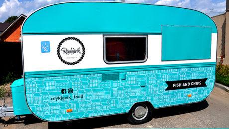 Оклеиваем Food Truck